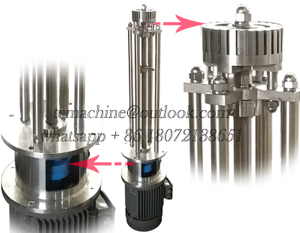 High Shear Homogenizer (vacuum)