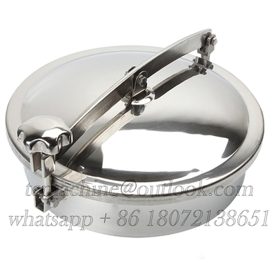 Stainless Steel Round Manhole for Room Pressure Processing Tanks